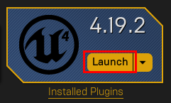 launch unreal engine