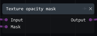 opacity mask node
