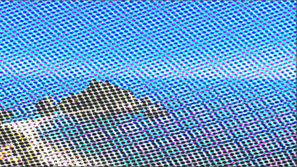 texture halftone effect
