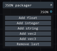 JSON packager node