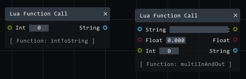 new lua functions