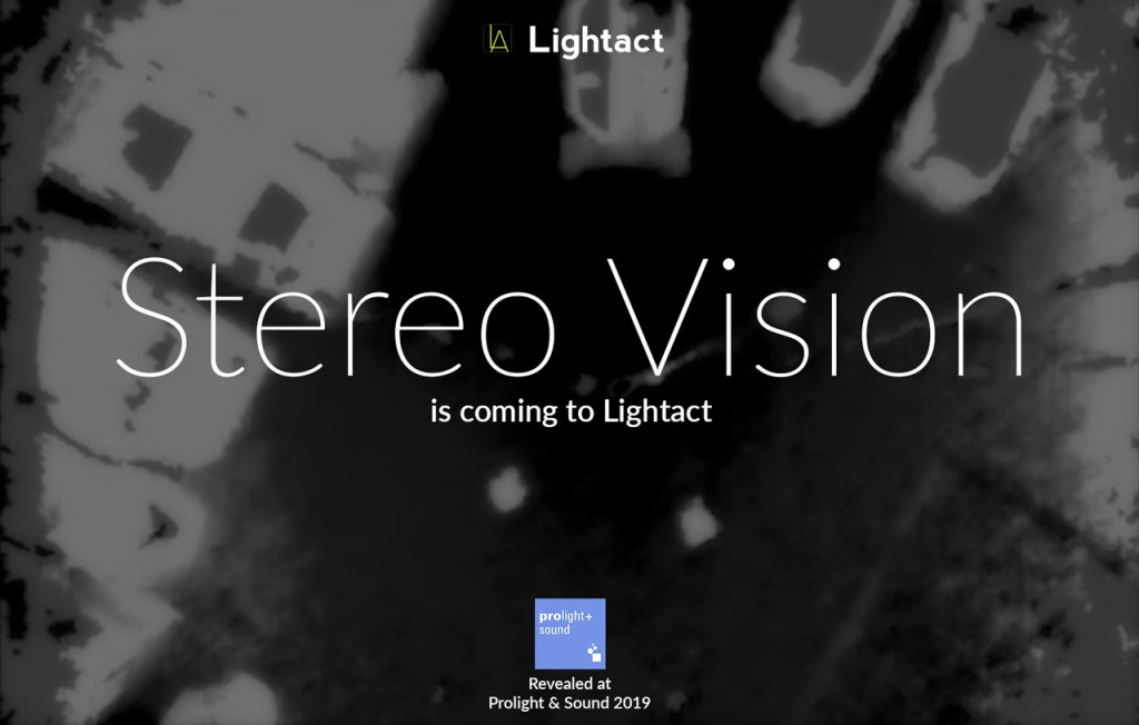 Stereo Vision in Interactive Projections | Lightact