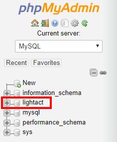 lightactDatabase