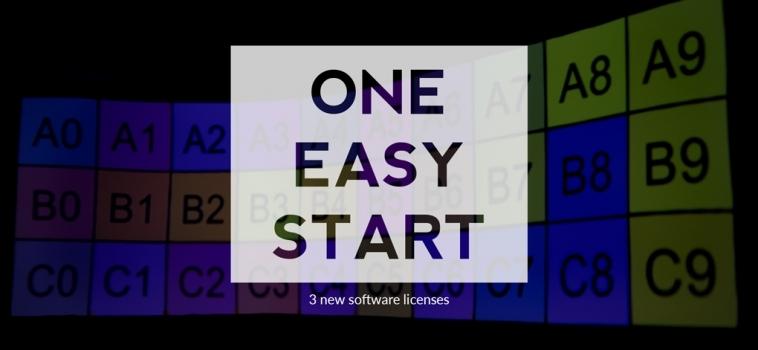 ONE. EASY. START