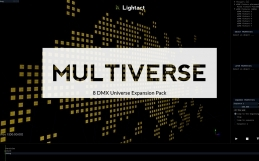 Lightact Multiverse, a DMX universe expansion!