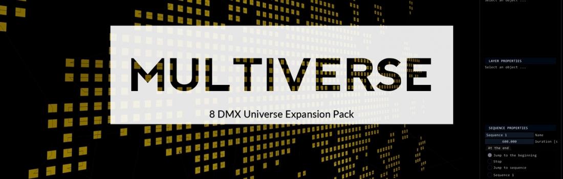 Lightact Multiverse, a DMX universe expansion!