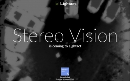 Stereo Vision in Interactive Projections